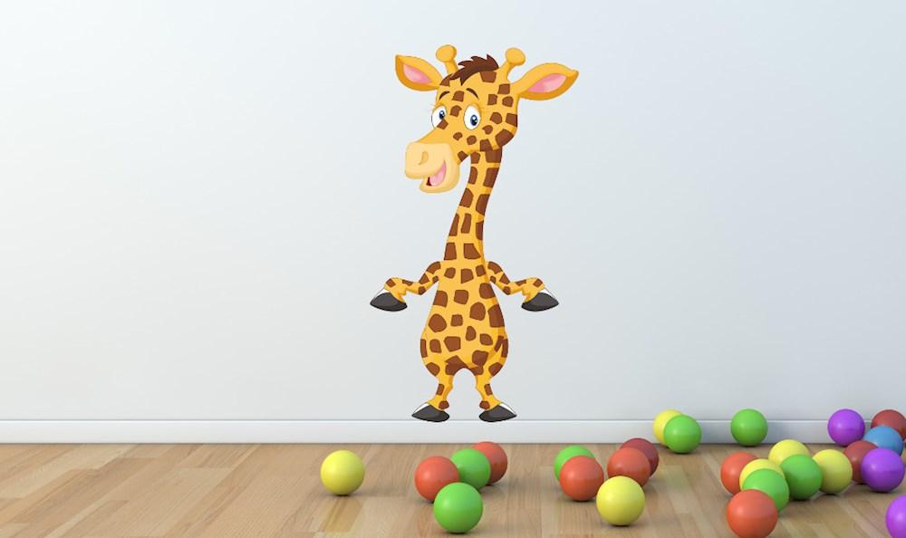 s es giraffen wandtattoo xl wandsticker mit giraffe ab 9 90. Black Bedroom Furniture Sets. Home Design Ideas