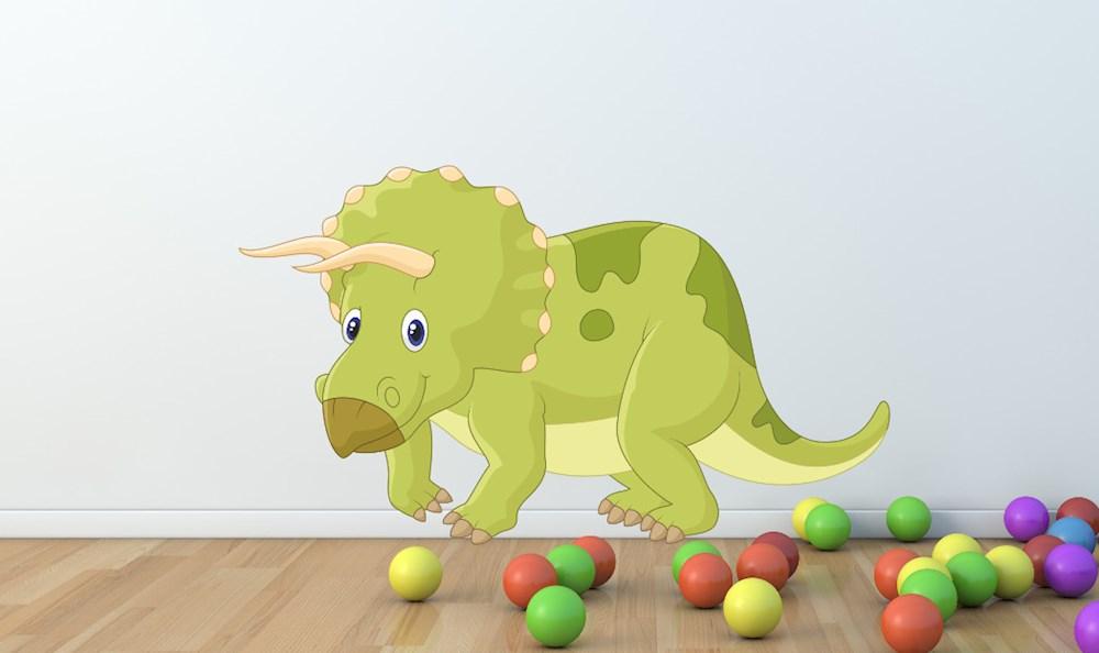 Dinosaurier Wandtattoo / Kinderzimmer Wandtattoo / XXL Wandtattoo