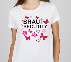 T-Shirt fürs Polter TEAM: Braut Security
